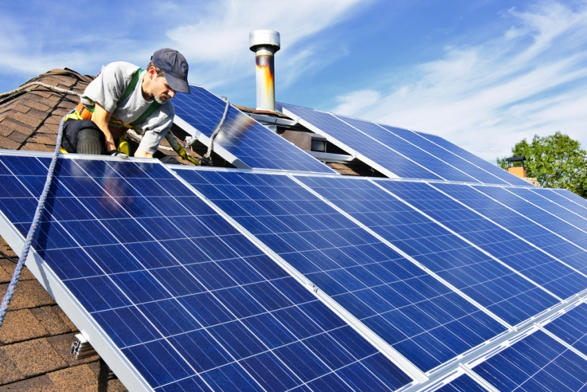 Solar Panel Installation For Home Living